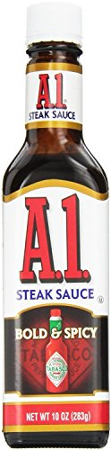 A.1. Bold & Spicy Sauce,  10 Ounce Glass Bottle (Pack of ()