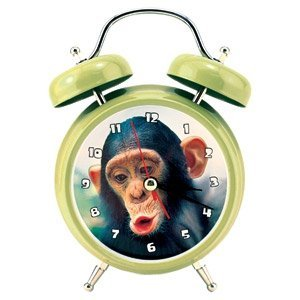 Wacky Chimp Monkey Alarm Clock