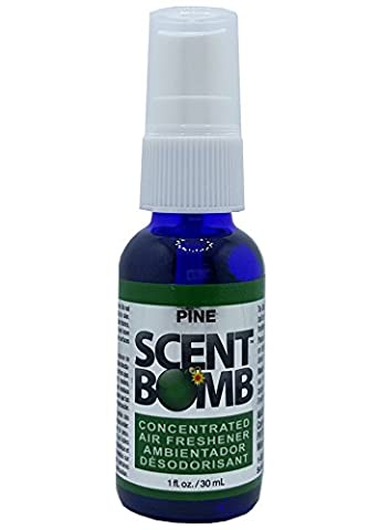 Scent Bomb Super Strong 100% Concentrated Air Freshener (Pine) (Scent Bomb Car Spray)