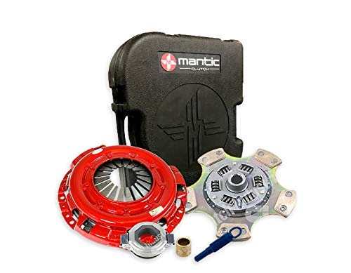 Skyline R31 RB20 Clutch MS4-2185-BX Mantic Stage Kit w/Mantic HD Cover Assembly|Full Ceramic,Sprung Clutch Disc, Reduced Driveability| Release bearing|Align Tool | Spigot Bearing: