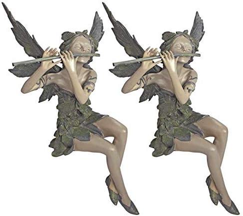 Amazon.com: De hadas de la W ST viento sentado escultura ...