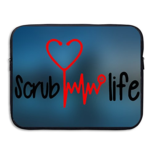 Nursing Shirt - Scrub Life Sleeve For 15 Inch Laptop Bag Tablet Case Shockproof Spill-Resistant Waterproof Control Fencing