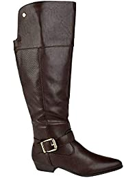 Bota Over the Knee Mooncity Textura Feminina