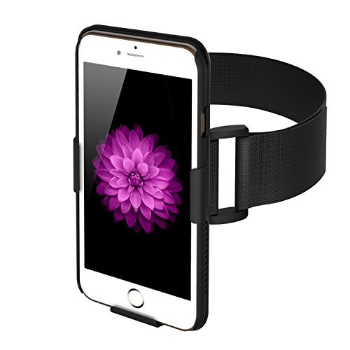 ase for iPhone 6 Plus - Lightweight and Fully Adjustable - Ideal for Workout, Hiking, Jogging, Gym, Running or Other Sports (Adjustable Armband)