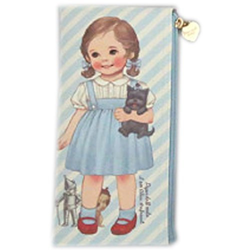Paper Doll Mate (Afrocat Paper Doll Mate New Pen Case Storybook Alice Pencils Beauty Brushes Multi Purpose Pouch (Blue(Alice)))