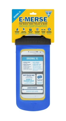 (Seattle Sports E-Merse Original XL Waterproof Case, Blue)