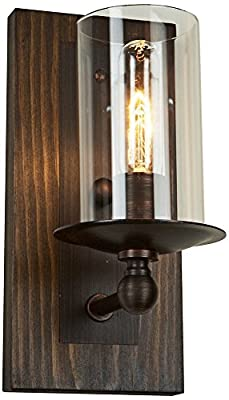 Artcraft Lighting Legno Rustico Wall Bracket, Dark Pine/Brunito
