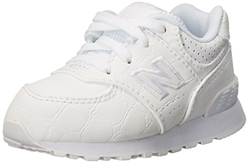 Nuovo Equilibrio Unisex-kinder Kl574wtg M Sneakers Multicolor (bianco / Bianco)