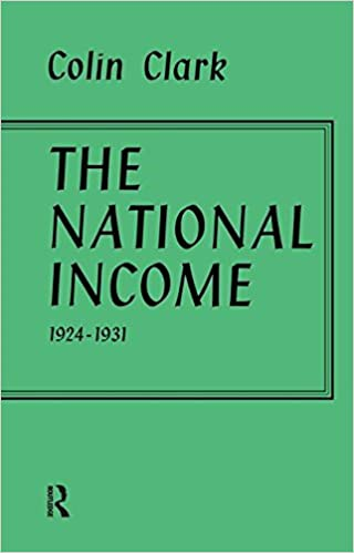 Book National Income 1924-1931