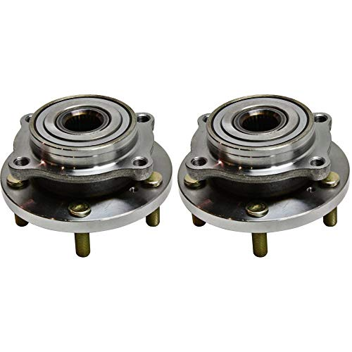 Wheel Hub and Bearing For 2005-2012 Mitsubishi Galant Front Left and Right With Lug Bolts 2Pc