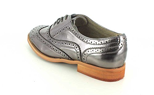 Shoe Shoes Babe Women's Pewter Oxford Wanted IH4fqxwBI