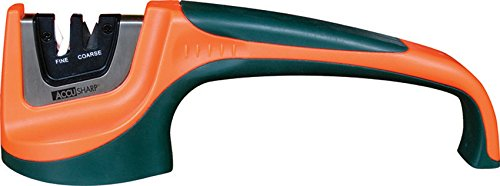 AccuSharp 039C Pull-Through Knife Sharpener-Orange/Green