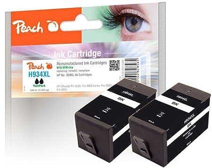 Peach 319487 49ml 2025páginas Negro cartucho de tinta - Cartucho ...