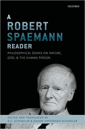 Sample Of English Essay A Robert Spaemann Reader Philosophical Essays On Nature God And The  Human Person St Edition Samples Of Persuasive Essays For High School Students also Model English Essays Amazoncom A Robert Spaemann Reader Philosophical Essays On Nature  Exemplification Essay Thesis