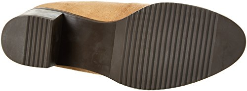 Buffalo London Damen 2865 Micro Strech Langschaft Stiefel Beige (ROBLE 01)