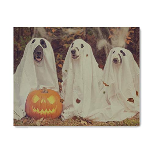 Your Home Canvas Painting Wall Art Halloween Pumpkin Gourd Creepy for Living Room Bedroom Home Office Decorations Canvas Pictures Print Artwork