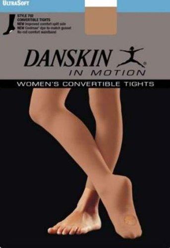 Light Toast - Danskin Women's Convertible Tight, Light Toast, A/A/B