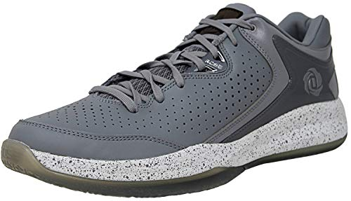 15cfcf9b5e9 Adidas Men s D Rose Englewood Iii Light Onix Metallic Silver Footwear White  Ankle-High Basketball Shoe - 12.5M