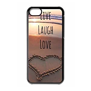 Live Laugh Love Brand New Cover Case for Iphone 5C,diy case cover ygtg576854
