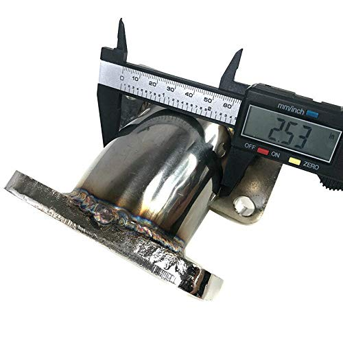 Gasket Fit T3 T3//T4 T70 GT35 HX35W HX40W Turbo 45 Degree SS T3 Adapter