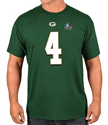 "Brett Favre Green Bay Packers Majestic Men's ""HOF Eligible Receiver 4"" T-Shirt"