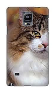 Storydnrmue Faddish Phone Animal Cat Case For Galaxy Note 4 / Perfect Case Cover