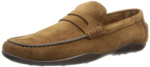Harry's of London Men's Basel2 Kudu Loafers Tobacco