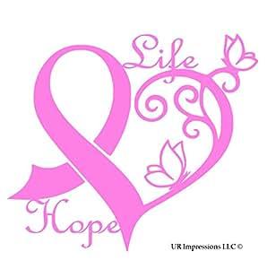 Amazon Com Ur Impressions Pnk Cancer Awareness Ribbon