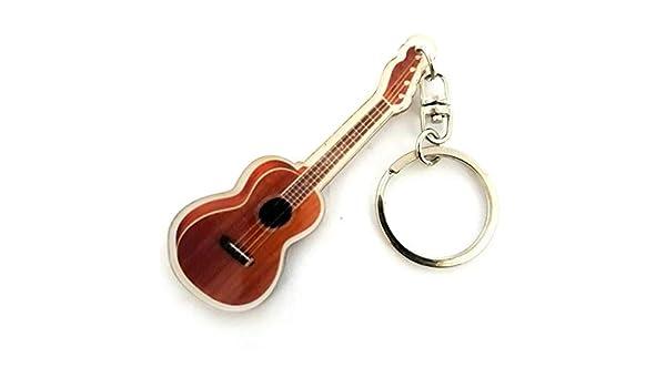 Llavero de acrílico forma ukelele: Amazon.es: Instrumentos musicales