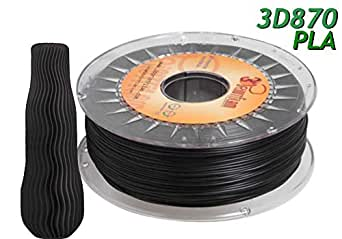3DPrintfilam® Filamento PLA Premium Ingeo 3D870 Negro 1,75mm 1Kg ...