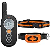 OMORC Dog Training Collar with 2 Replaceable Collars, Dog Shock Collar, Remote Wakeup