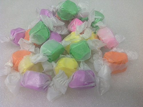 Spring Salt Water Taffy Wrapped Kisses Easter 1 pound Pastel