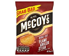 Steakier than a steak on a high-stakes stakeout and meatier than an important meeting about meat: this crisp is going to make you think you've eaten the real thing. But you haven't. It's just a crisp.