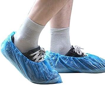 HSOMiD Non Slip Disposable Shoe Covers