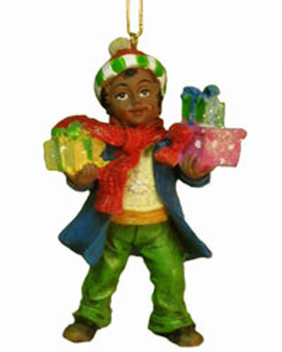 little boy african american ornaments d0513b