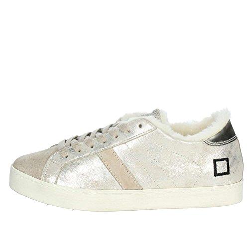 Platino Donne Data 16i Bassa Sneakers Collina Basse qYHqp