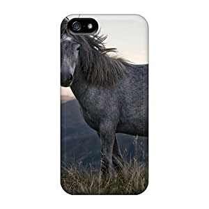 Pretty For SamSung Note 4 Phone Case Cover Grey Horse Series High Quality Case