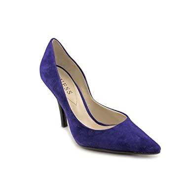 Guess Shoes Carrie - Med Blue Suede