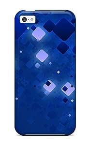 Laura Jordan WhvRsGZ10188bQmfj Case Cover Iphone 5c Protective Case Abstract Blue