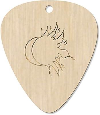 Azeeda 7 x Sol y Luna Guitarra Púa (GP00012316): Amazon.es ...