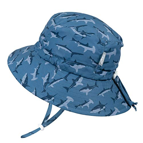 UPF Adjustable Toddler Sun Hat for Baby and Kids 50 Jan /& Jul GRO-with-Me Cotton Adventure Hat