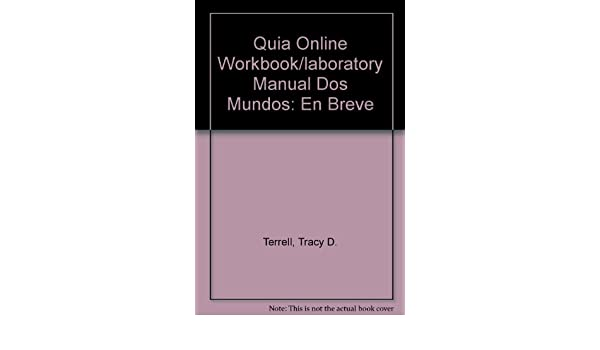 Amazon. Com: quia online workbook/laboratory manual access card for.