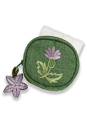 Pill Box in a Balmoral Thistle (Celtic Design Thistle)