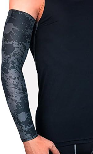1 pieza de protectores UV para correr y ciclismo, calentadores de ...