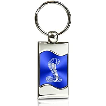 KC3075.DTY.BLU Blue Wave Au-TOMOTIVE GOLD Compatible Keychain and Keyring for Ford Super Duty