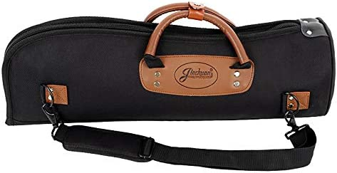 Trumpet Gig Bag 1200D Water-resistant Oxford Cloth Adjustable Strap with 15mm Cotton Padded Trumpet Case