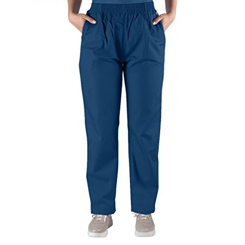 - Nurse Scrubs for Men & Women: Unisex Medical Nursing Pants L Navy