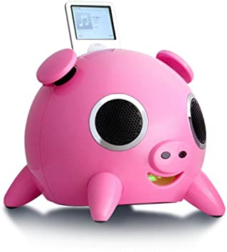 speakers pink. speakal ipig 2.1 stereo ipod docking station with 5 speakers (pink) pink