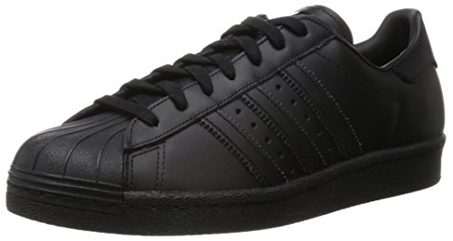 Scarpe Core adidas Superstar Nero Black Sportive Outdoor 80s Uomo FCvwq6