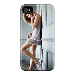 Awesome Doutzen Kroes Victorias Secret Supermodel Flip Case With Fashion Design For Iphone 4/4s